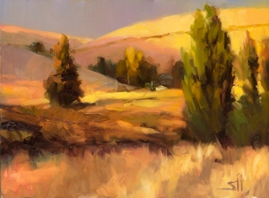 Homeland 1 by Steve Henderson. Original sold; open edition print available at Great Big Canvas.